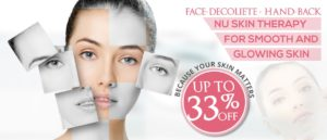 Truly Amazing Skin Treatment (Nu Skin Therapy – Up to 33% off)